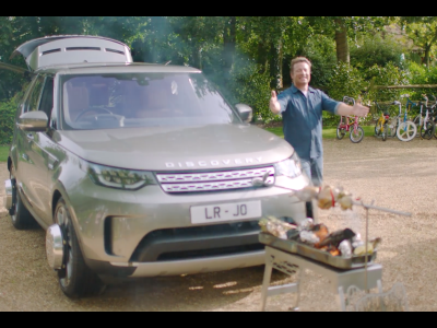 Land Rover Discovery & Jamie Oliver?